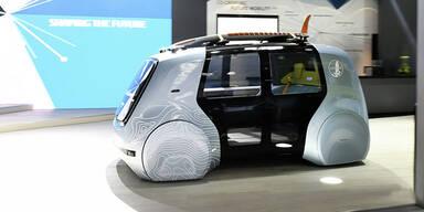 VW zeigt Sedric für Aktivsportler
