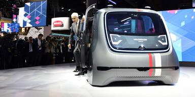 Die (Auto-)Zukunft fährt per Roboter