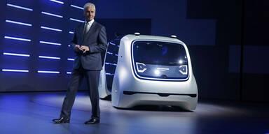 VW-Chef kündigt 10 neue Elektroautos an