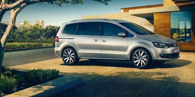 VW bringt neue Sharan Sondermodelle