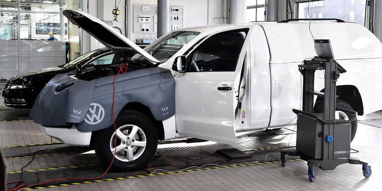 VW kommt mit Umrüstung gut voran