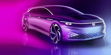 VW zeigt Elektro-Kombi mit 590 km Reichweite