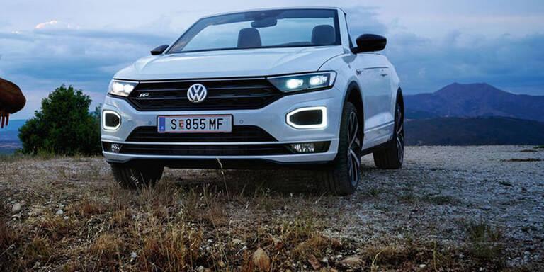 Bestellstart für das VW T-Roc Cabrio