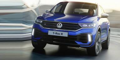 VW greift mit dem T-Roc R an