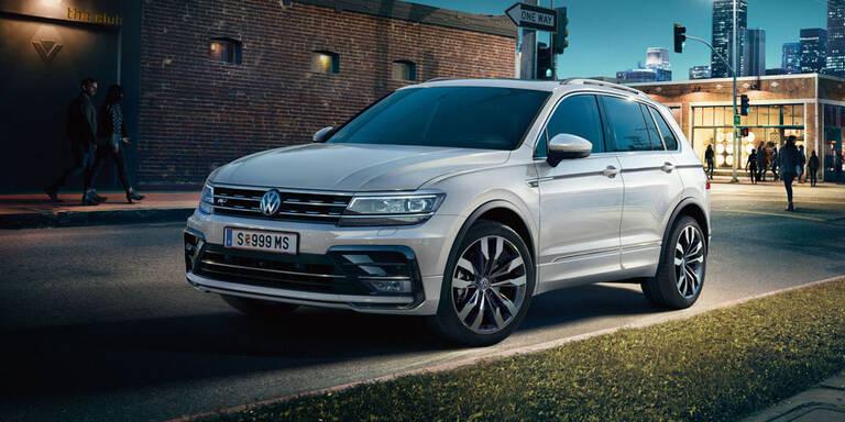 VW bringt Tiguan, Touran und Up! als Sky