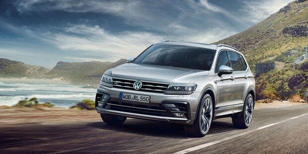 Jetzt startet der VW Tiguan Allspace