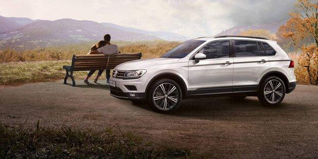 VW bringt jetzt den Tiguan Austria