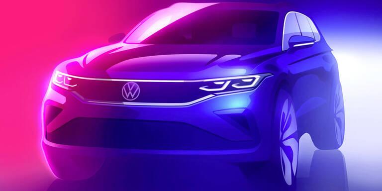 VW gibt Ausblick auf das Tiguan-Facelift