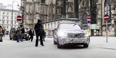 So kommt der neue VW Touareg (2018)