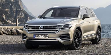 VW stampft den V8 TDI im Touareg ein