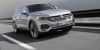 Neues Top-Modell vom VW Touareg