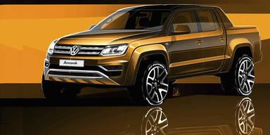 VW verpasst dem Amarok ein Facelift