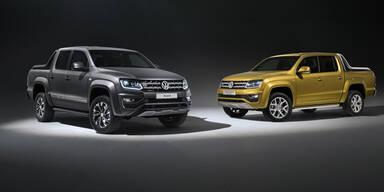 VW Amarok: Top-Version & Sondermodell