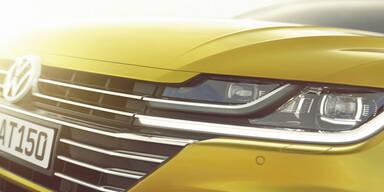 VW zeigt Fotos vom völlig neuen Arteon
