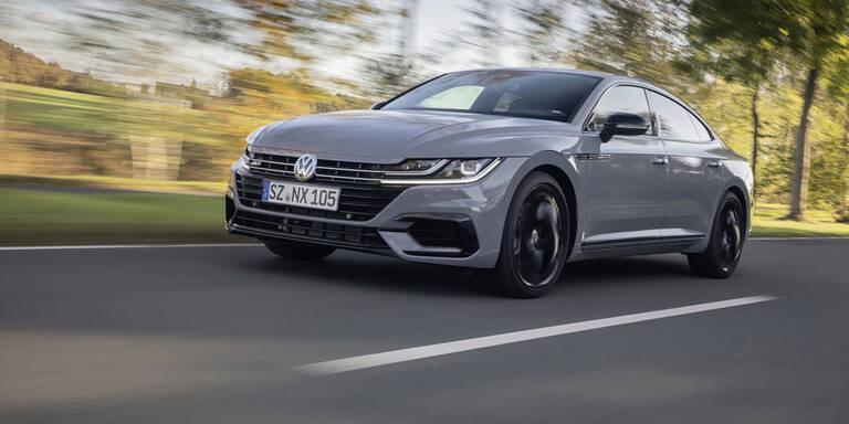 VW greift mit dem Arteon Black Style an