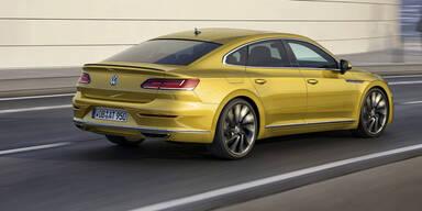 Der Arteon ist das neue VW-Flaggschiff