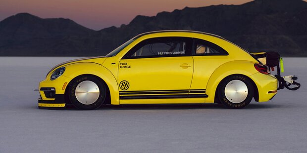 Das ist der schnellste Beetle der Welt