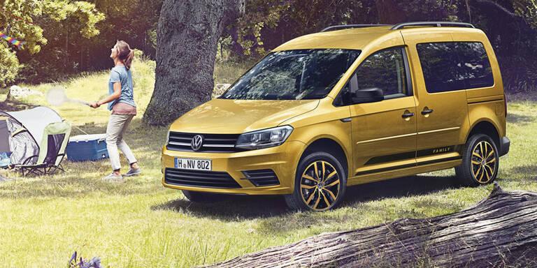 VW bringt den neuen Caddy Family