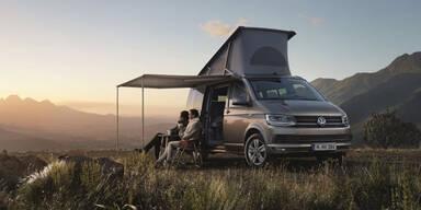 Der neue VW California startet
