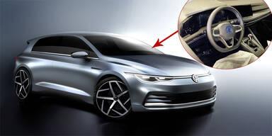Mega-Leak: Foto zeigt Cockpit des VW Golf VIII