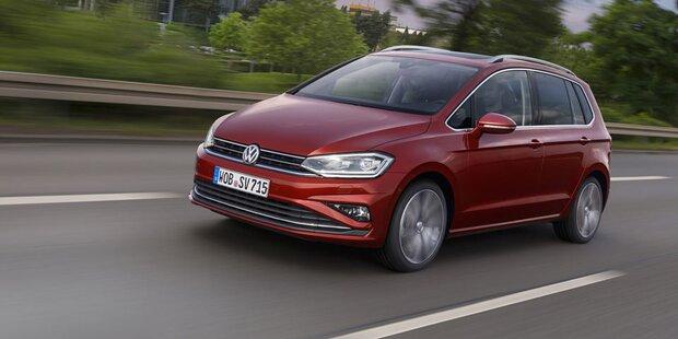 Facelift für den VW Golf Sportsvan