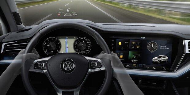 VW setzt auf vollvernetzte Autos