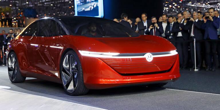 VW ID. Vizzion ohne Lenkrad aber mit Gefühlen