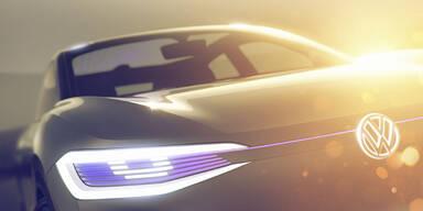 VW zeigt einen Elektro-Crossover