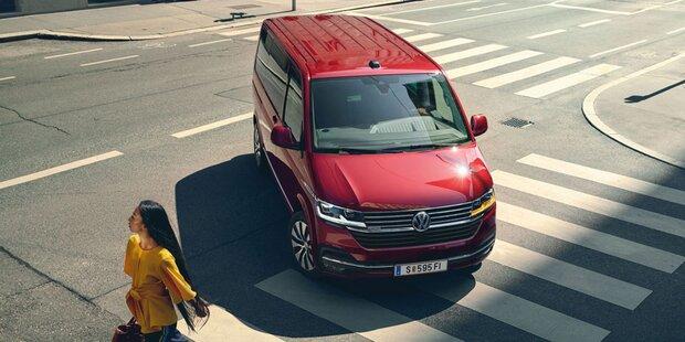 Neuer VW Multivan 6.1 startet als