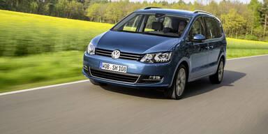 VW Sharan ist jetzt Millionär