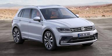 Neuer VW Tiguan in Österreich bestellbar