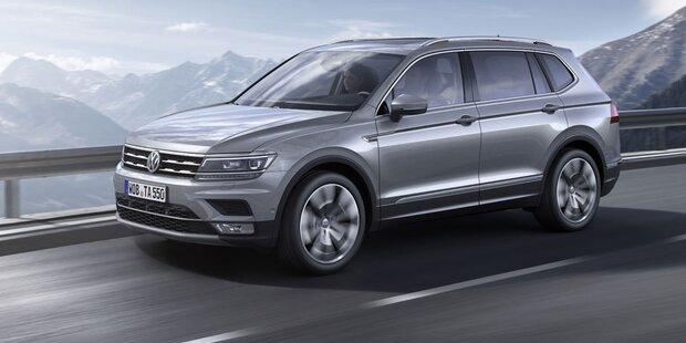 Alle Infos vom VW Tiguan Allspace