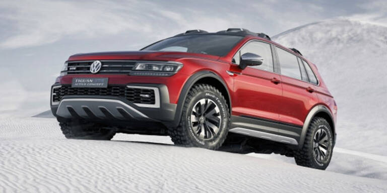 VW zeigt Tiguan im harten Offroad-Look