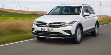VW Tiguan ab sofort auch als Plug-in-Hybrid