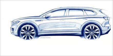 VW zeigt den völlig neuen Touareg