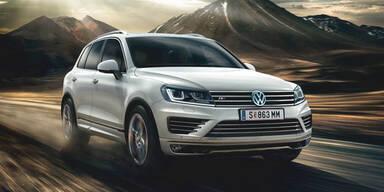 VW Touareg Sport & Sport Austria starten