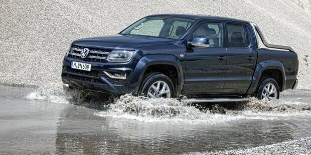 """VW lässt """"neuen"""" Amarok von der Leine"""