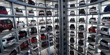 Neuwagenmarkt heuer klar im Minus