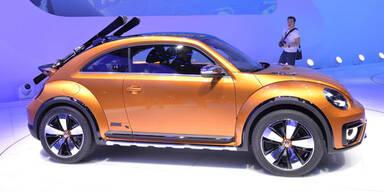 VW Beetle Dune im Crossover-Look