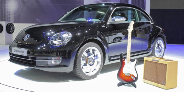 VW stellt den Beetle Fender Edition vor