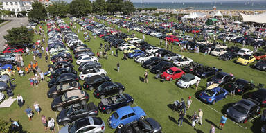 Größtes VW Beetle-Treffen der Welt