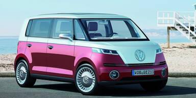 VW plant Neuauflage des kultigen Bulli
