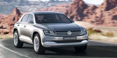 Weltpremiere des VW Cross Coupé