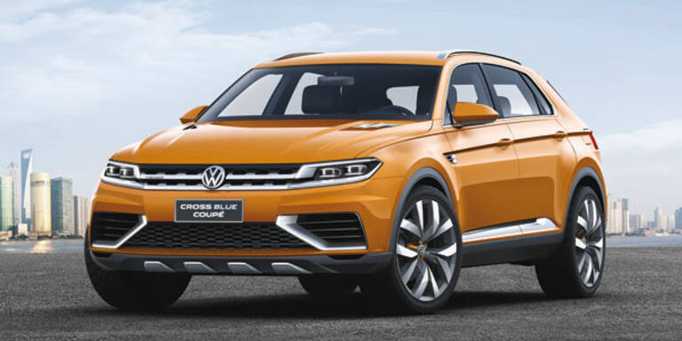 VW zeigt das CrossBlue Coupé