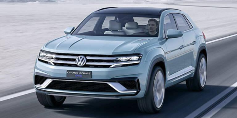 VW greift mit Plug-in-Hybrid SUV an