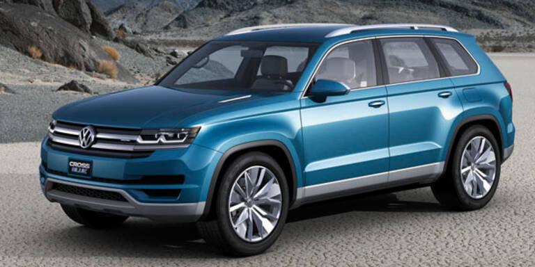 VW bringt den CrossBlue in Serie