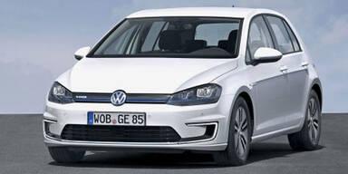 Jetzt greift VW mit dem Elektro-Golf an