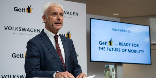 VW macht sich mit Gett fit für die Zukunft