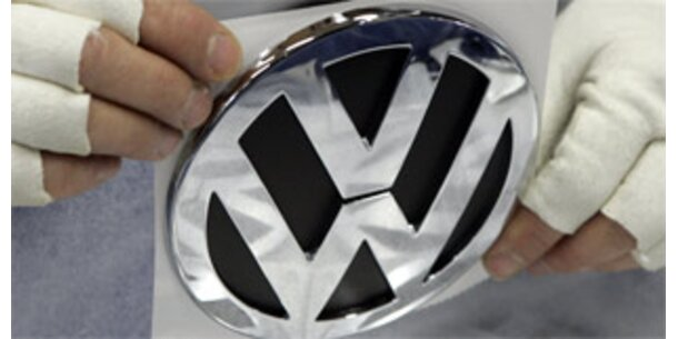 VW verkaufte im Februar mehr Autos denn je