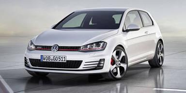 Fotos zeigen den neuen VW Golf VII GTI
